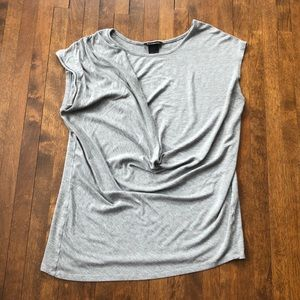 Grey top size large